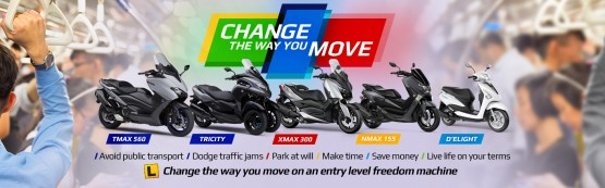 Change the way you move